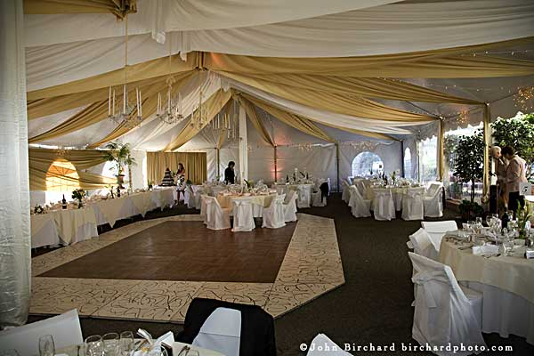 How to Decorate a Canopy Tent for a Wedding - Yahoo! Voices
